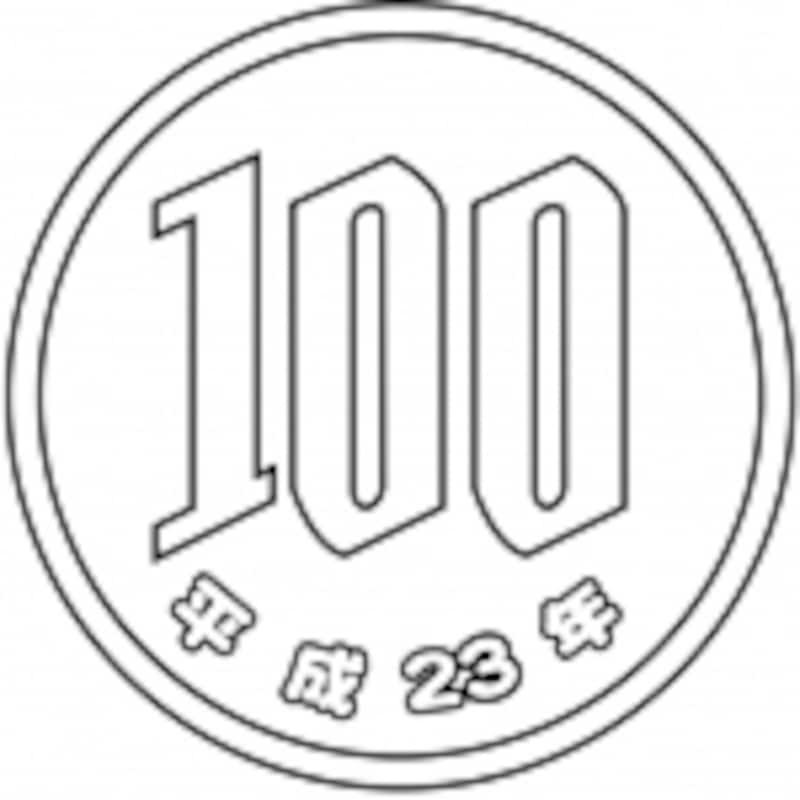 100円硬貨イメージ