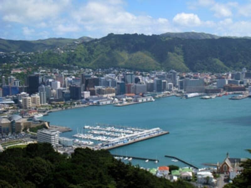 ニュージーランドの政治の中心地ウエリントン