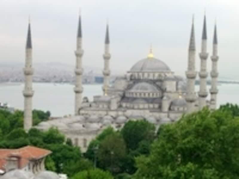 スルタンアフメットモスク外観