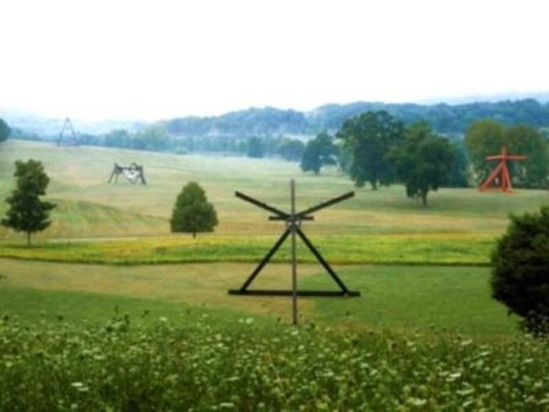 風や光を感じながら、自然と調和するアートを鑑賞