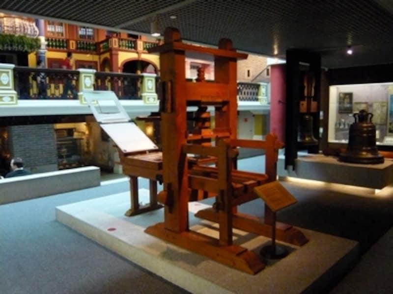 大航海時代の日本、ポルトガル、そしてマカオの関係もよくわかる展示がなされているマカオミュージアム。写真は天正遣欧少年使節団がヨーロッパから持ち帰ったとされる印刷機のレプリカ