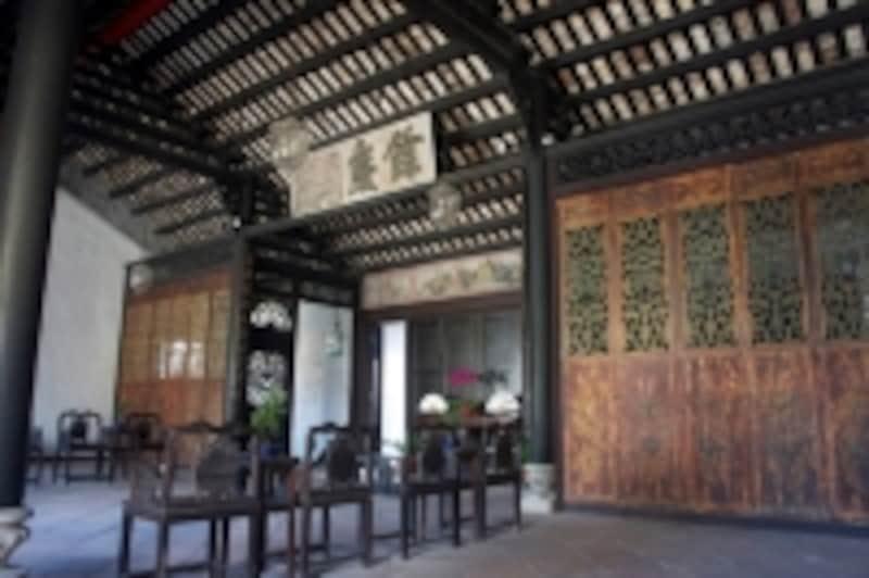 修復を終えて見事によみがえった美しい鄭家屋敷(マンダリンハウス)