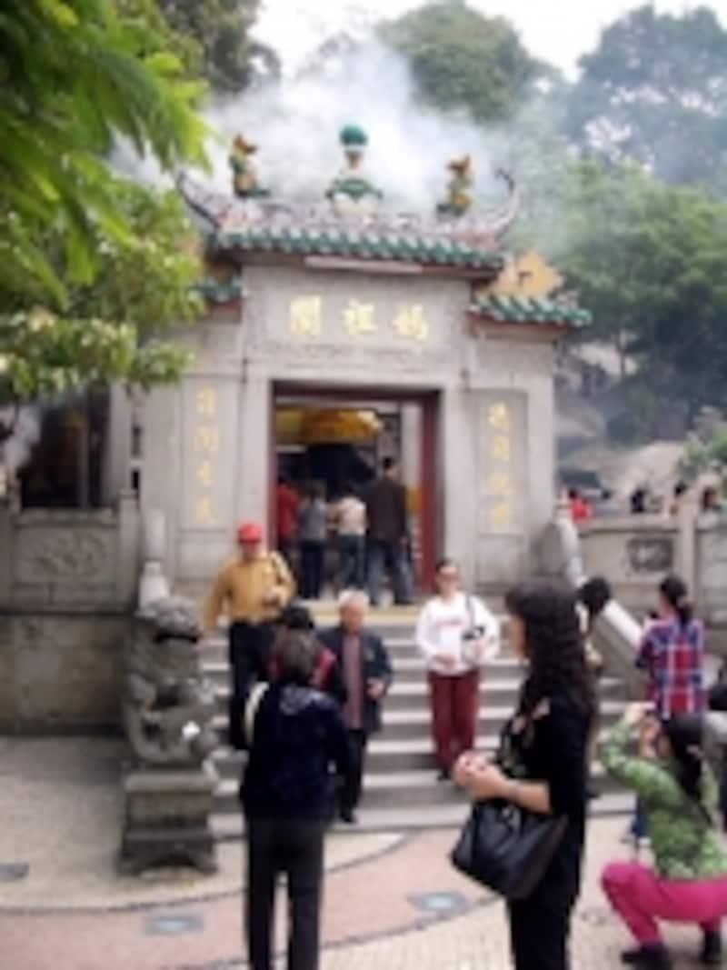 多くの中国系観光客