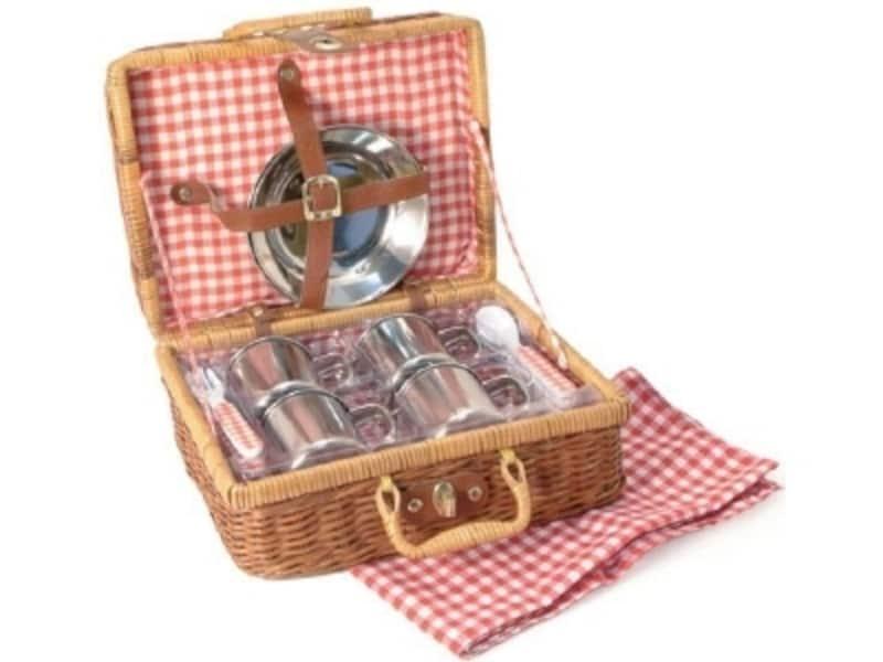 本格的なヨーロッパ風ピクニックセット