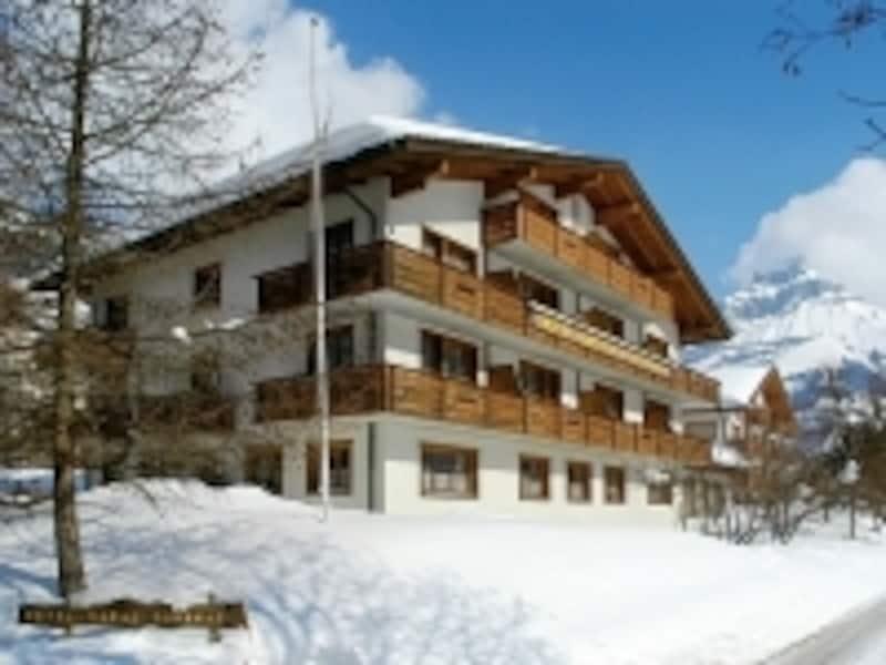 スイスのホテルイメージ画像(冬景色)