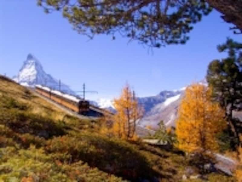 スイスの山岳交通機関イメージ