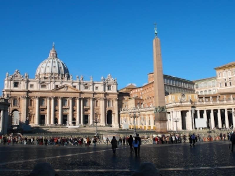 カトリックの象徴、サン・ピエトロ大聖堂