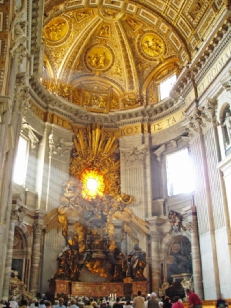 ジャン・ロレンツォ・ベルニーニ『聖ペテロの司教座』