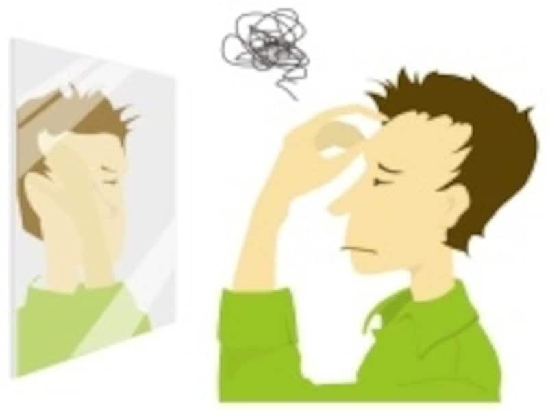 精神的ストレスの影響で頭痛になることも