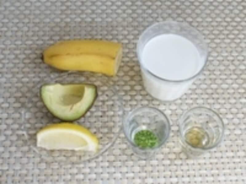 アボカド抹茶バナナ