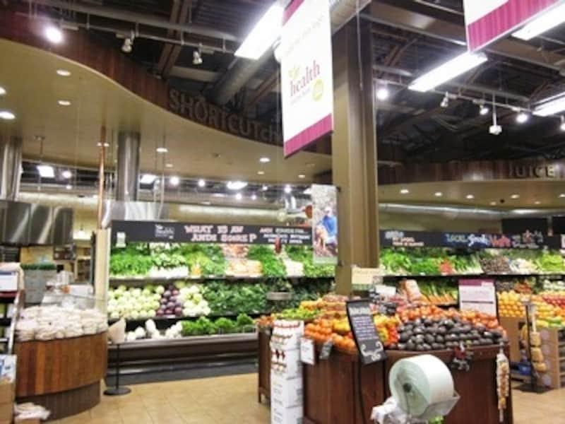 巨大なアメリカのスーパー