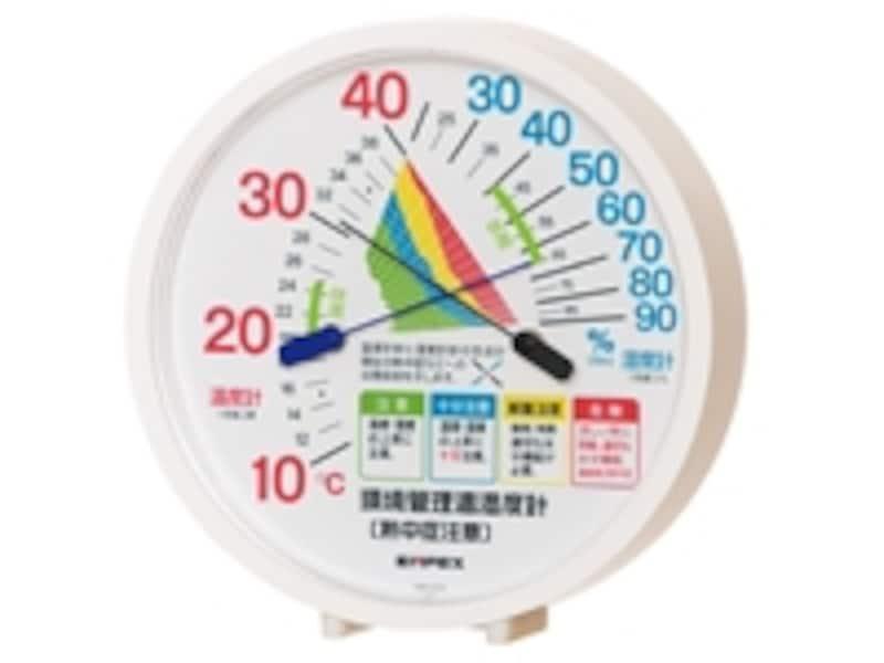 「熱中症注意」が分かる温湿度計があれば安心ですundefined