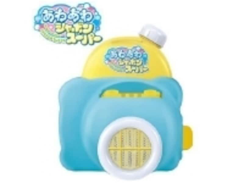 お湯が入っている湯船でも泡風呂が簡単にできて便利!