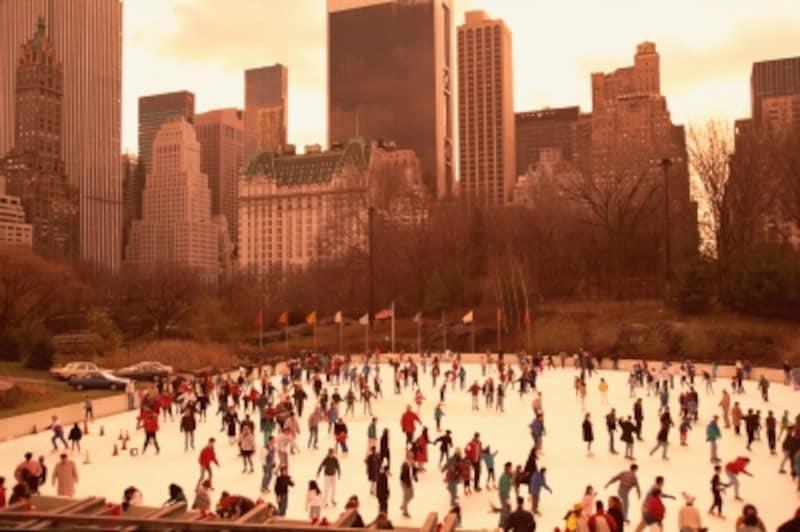 セントラルパークのスケートリンク