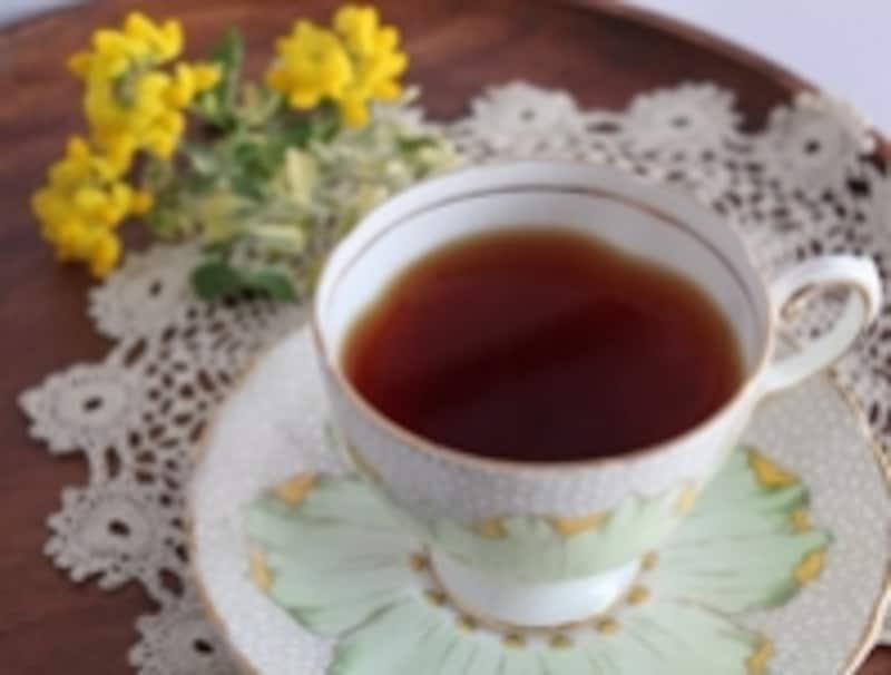 紅茶を飲めば気持ちも楽に