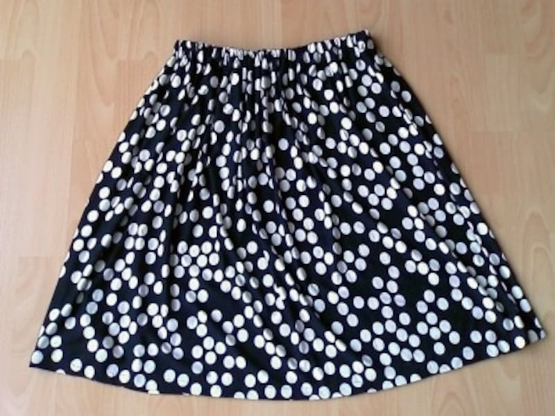 子供用スカートの作り方:完成