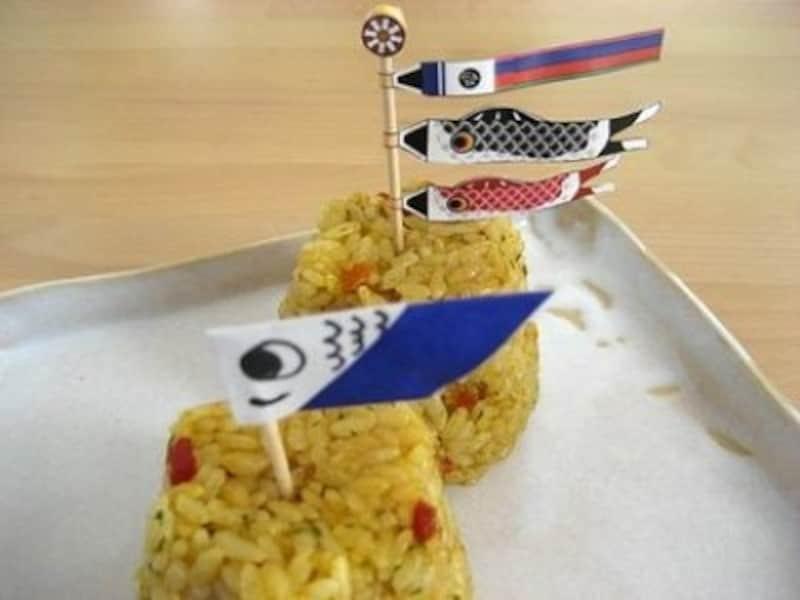こいのぼり製作鯉のぼりピック