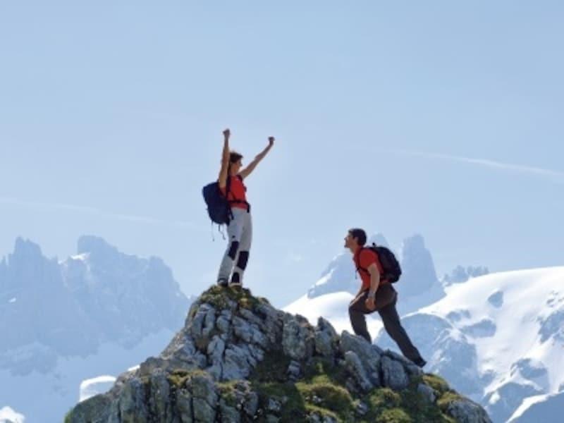 スイスのハイキングイメージ