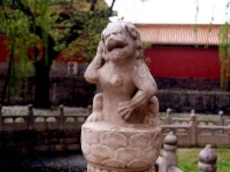 故宮猿獅子