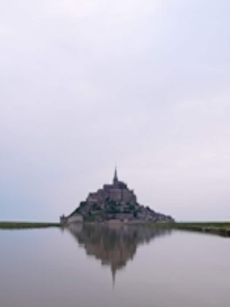 満潮時のモンサンミッシェル