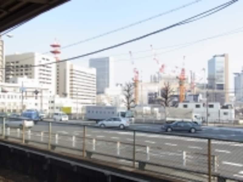 中津駅から北ヤード