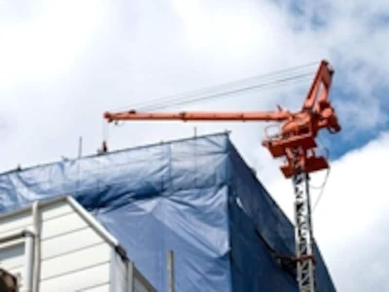 建築工事現場