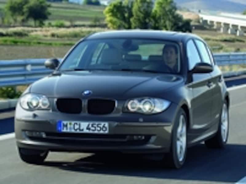 BMW1シリーズフロント
