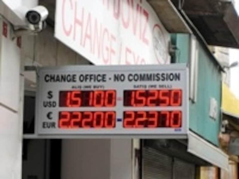 両替所のレート