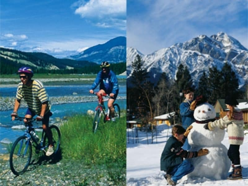 夏と冬の差が激しいのがカナダの特徴undefined(C)FairmontHotels