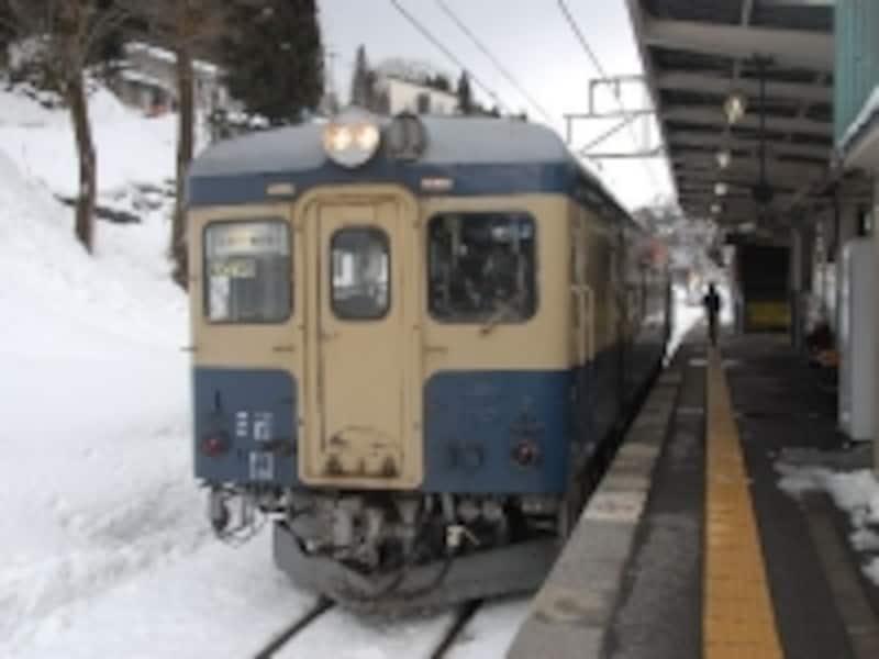 JR大糸線時代のキハ52-125