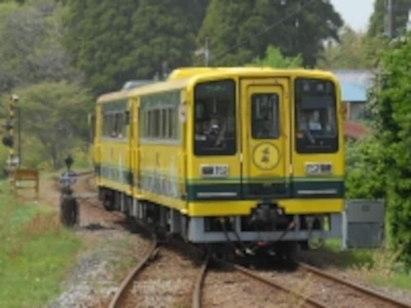 いすみ鉄道を走るレールバス