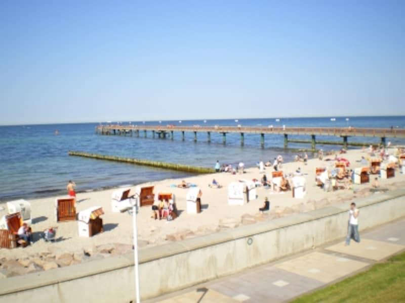 リューゲン島ビーチ