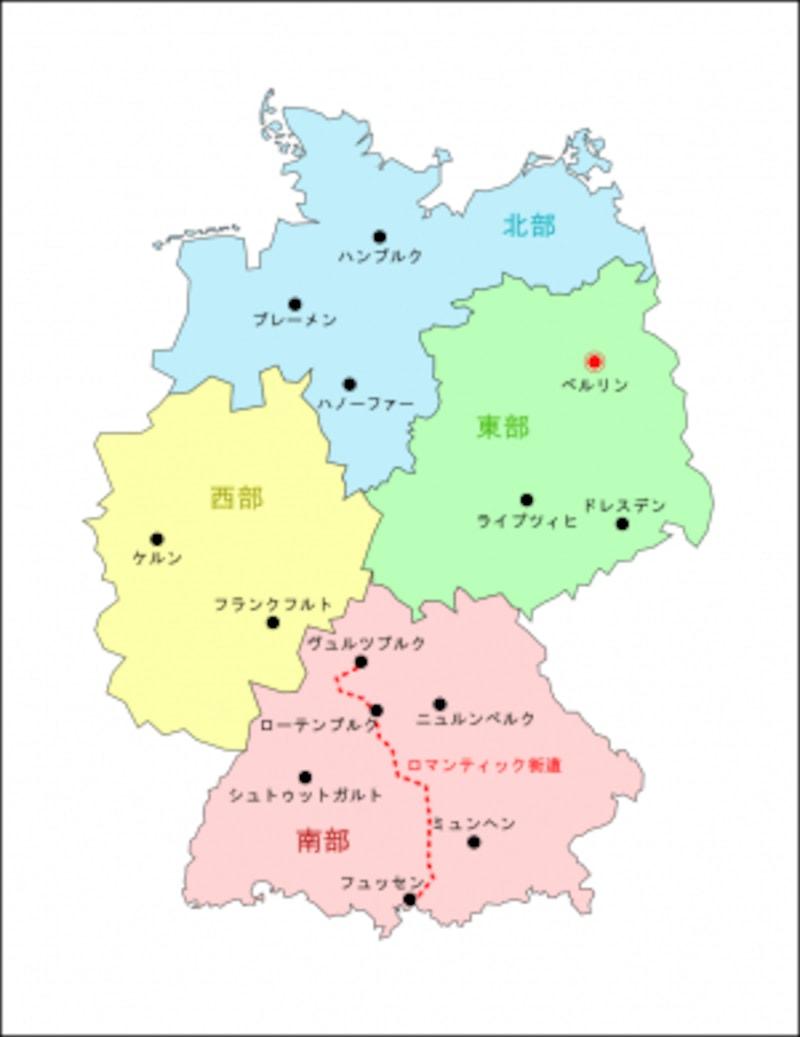 ドイツ全図