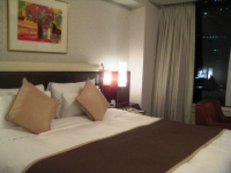 海外ホテルダブルベッド