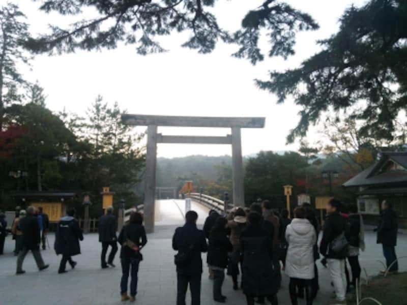 伊勢神宮・内宮(2)/宇治橋