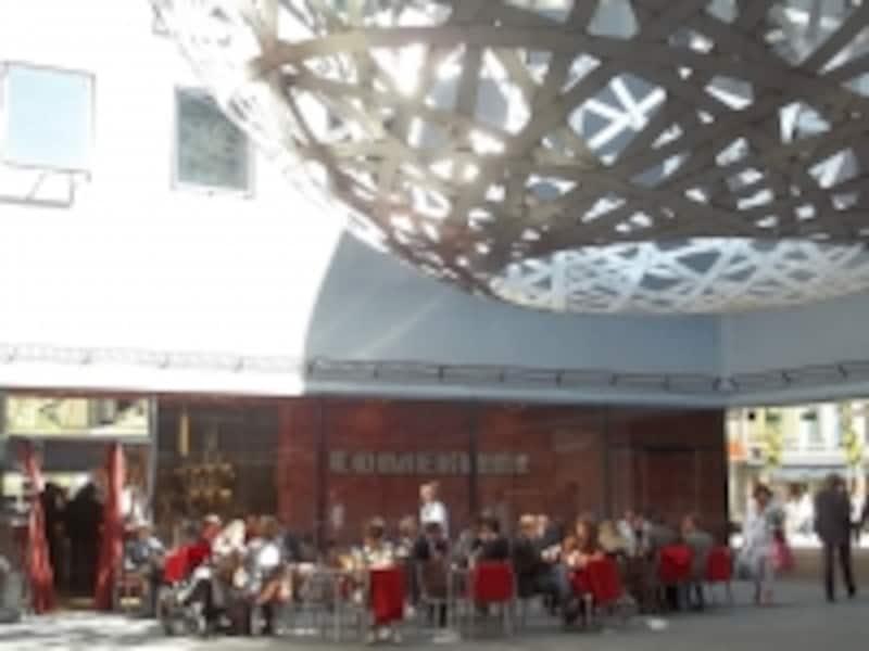フュンフへーフェのカフェ