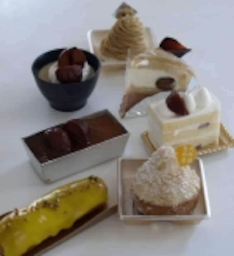 川上屋の洋菓子各種
