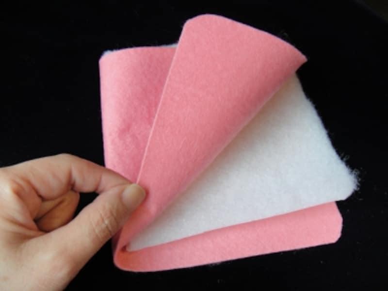 本文用の布の縫い合わせ方