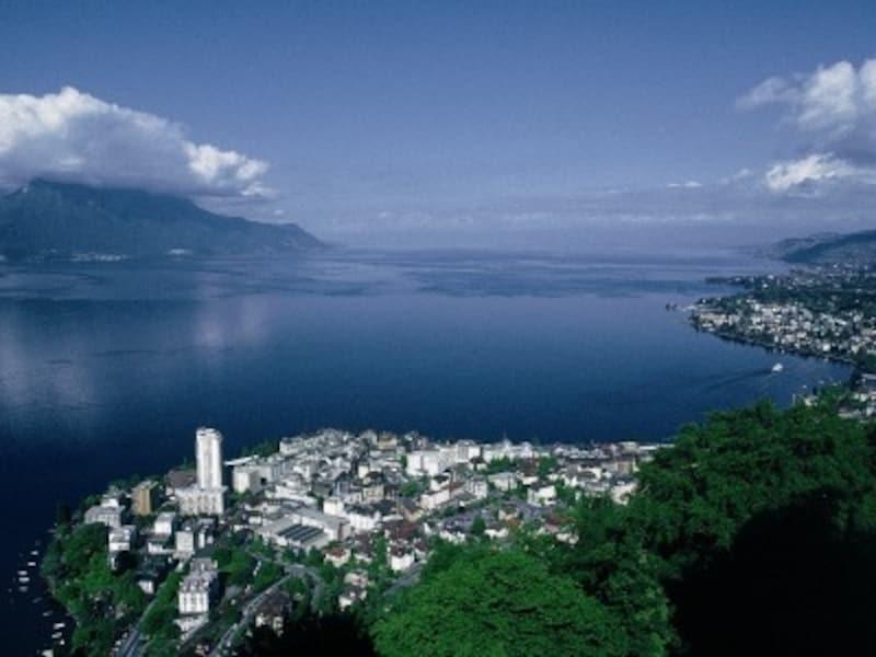 スイス、レマン湖