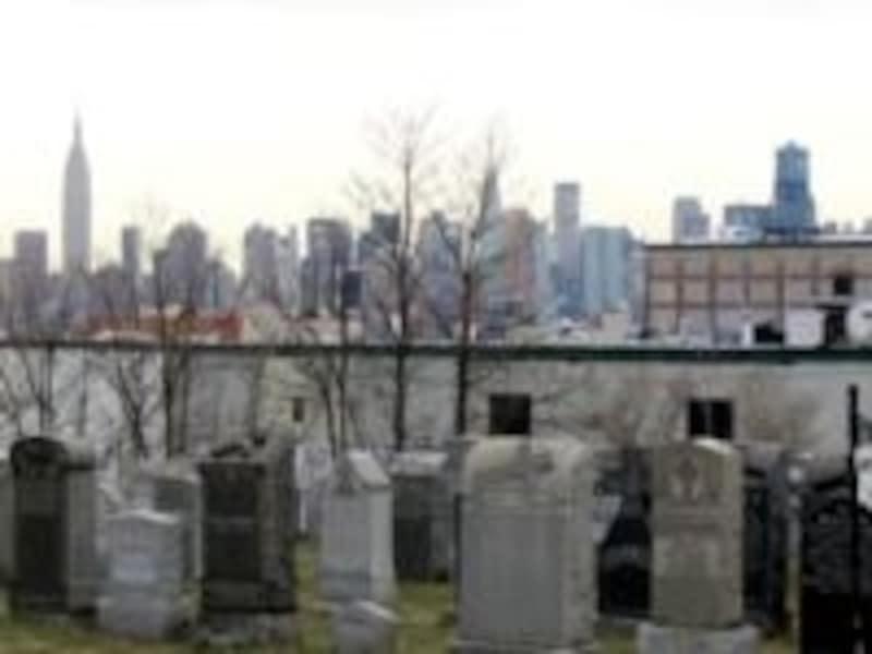 全米でも最大級の墓地