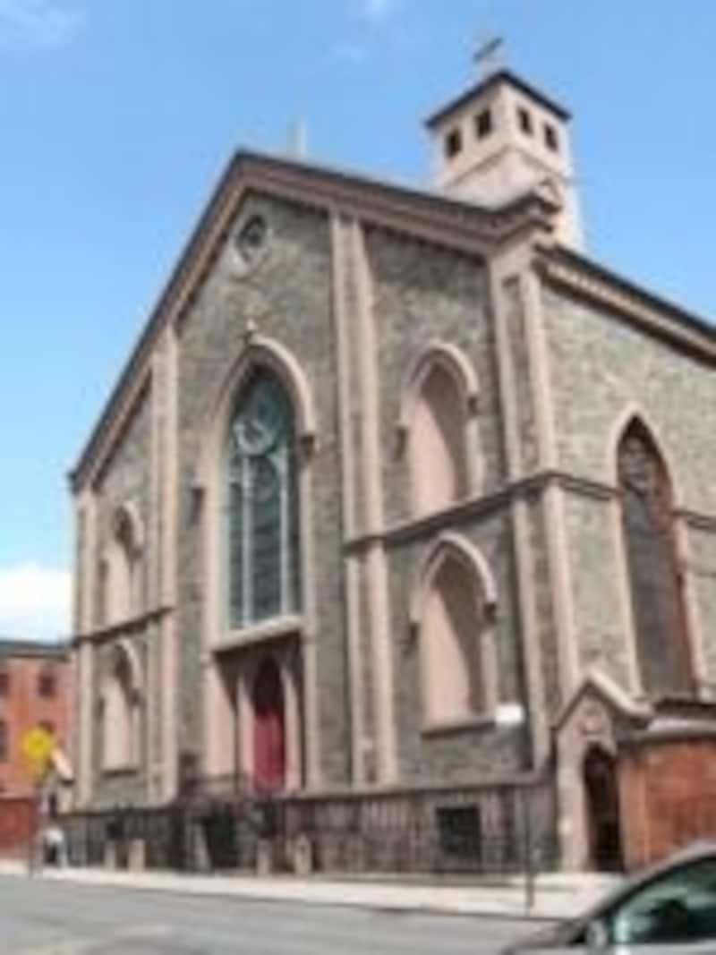 ノリータの中心にある教会
