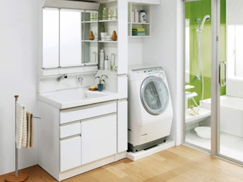 洗面台は鏡のくもり止めヒーターの省エネも忘れずに[サクア/TOTO]