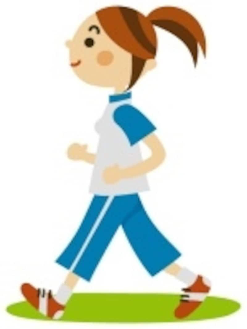 ウォーキングやヨガなどの全身運動が適しています