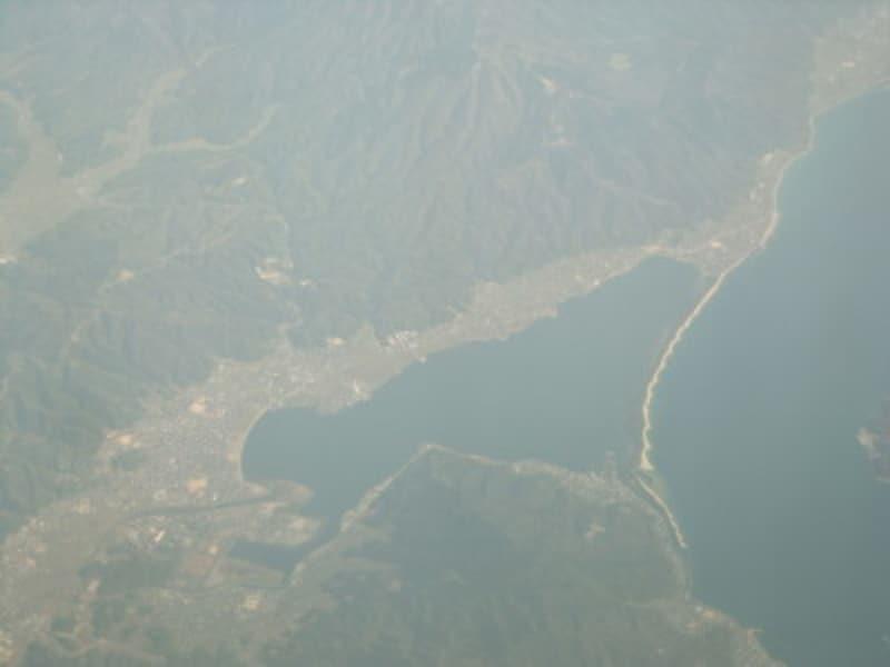 天橋立(2)/飛行機からの眺め
