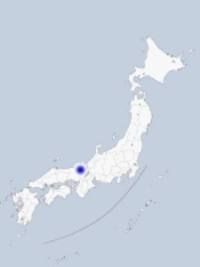 天橋立の地図