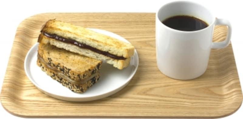 あんペーストトースト