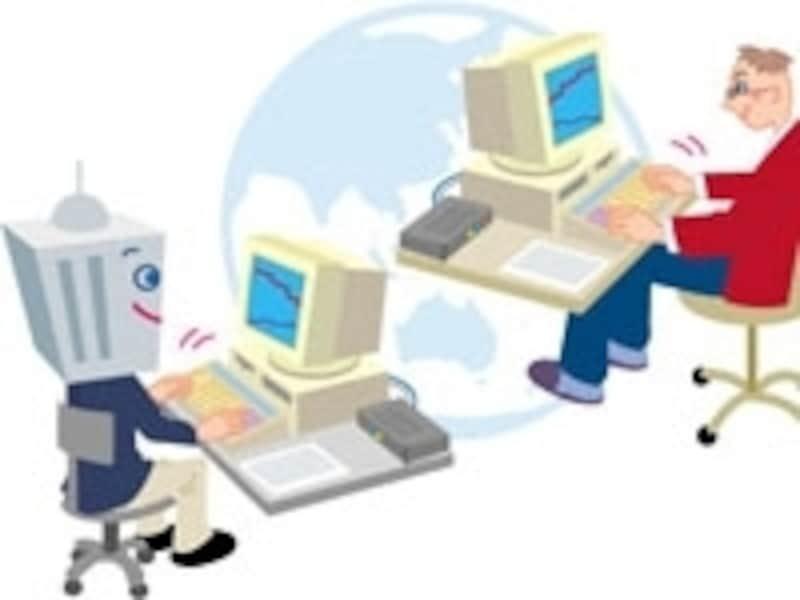 他人のコンピュータに侵入するハッキングは違法行為。