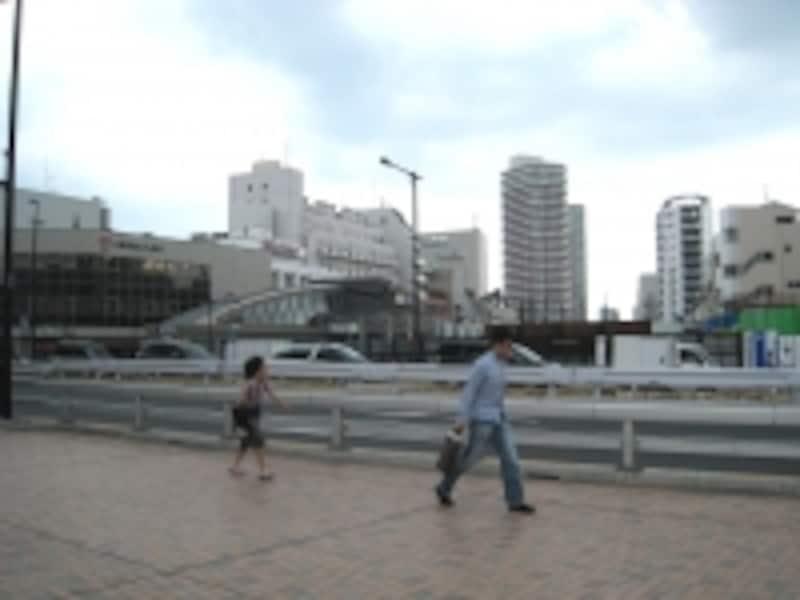駅前広場予定地