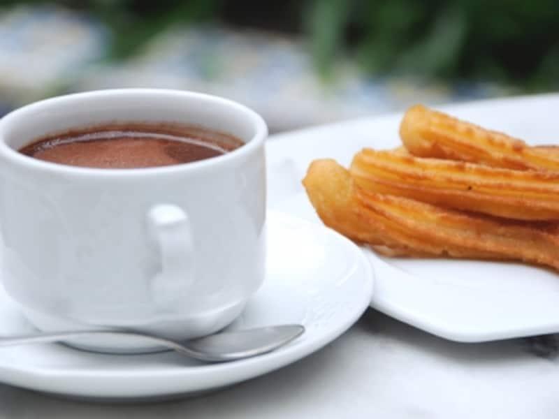 チュロスとチョコラーテ
