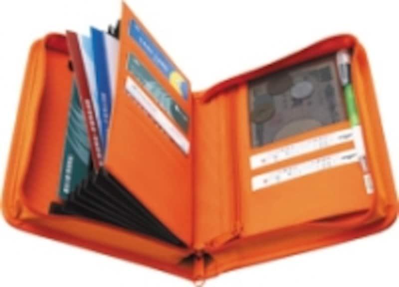 通帳&カード収納ケース。